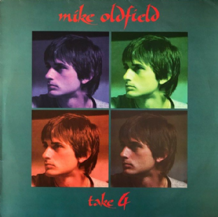 "Mike Oldfield ‎- Take 4 EP (12"") (White Vinyl) (VG/VG-)1)"